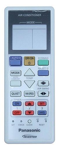 hướng dẫn cách sử dụng remote máy lạnh panasonic