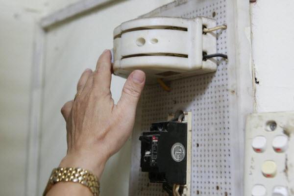 tủ lạnh không vào điện