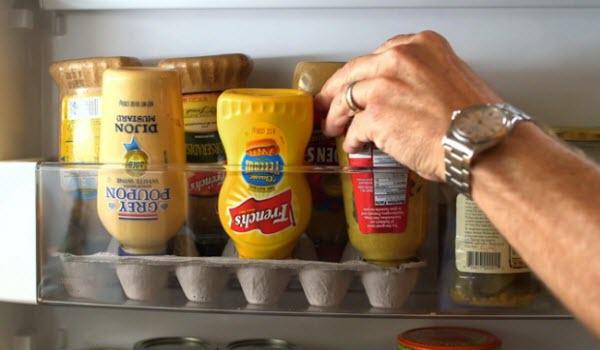 cách sắp xếp thức ăn trong tủ lạnh