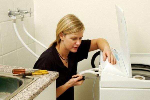 máy giặt bị hư board