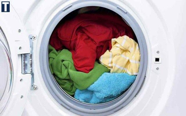 máy giặt chỉ xả nước mà không giặt